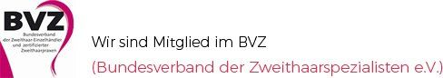 Wir sind Mitglied im BVZ (Bundesverband der Zweithaarspezialisten e.V.)